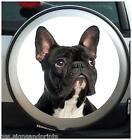 FRENCH BULLDOG SPARE WHEEL COVER STICKER 4X4 (CHOICE OF SIZES)