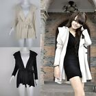 New Hot Funky Women's Hooded Coat Jacket Trench Outerwear Dress Style Top