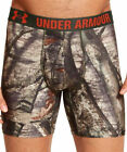 "Under Armour Men's 6"" Boxerjock Briefs Camo NWT 1247862 Realtree Mossy All Sizes"