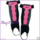 NIKE SHIN GUARD PROTECTION GEAR SOCCER GIRLS S M L XL PINK YOUTH CHARGE NEW