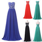New Sexy Long Evening Dress Formal Prom Party Homecoming Wedding Ball Gown Dress