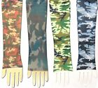 Tattoo Sleeves Camo Army Red, Green or Blue Camouflage, Single Arm or PAIR NEW!