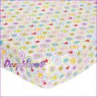 BABY FITTED CRIB SHEET TODDLER GIRLS BOYS TRULY SUMMER KIDSLINE CARTERS OWLS NEW