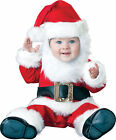 Santa Baby Infant Toddler Costume Suit Holiday Christmas Jumpsuit Red White