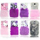 New Luxury 3D Handmade Fluffy Fur Case For iPhone 4 S 5 S 5C Galaxy S3 S4 Note 2
