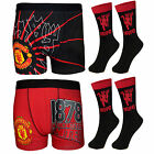 Manchester United FC Football Gift Mens Devil Socks & Boxer Shorts (RRP £14.99!)