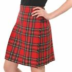 New Scottish Ladies Knee Length Kilt Skirt Various Tartans and Sizes 8-20