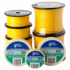 Scientific Anglers Fly Line Backing XTS Gel Spun Yellow Thin Strong 30 lb 50 lb