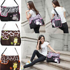 L Baby Diaper Nappy Changing Shoulder Bag Travel Mummy Handbag Tote Bag