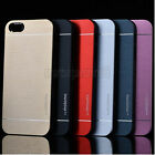 Luxury Hybrid Metal Brushed Aluminum Hard Case Cover For Apple iPhone 6 4.7""
