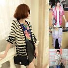 Women Ladies Knitted Long Sleeve  Womens Button Cardigan Sweater Tops Hot