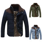 DISCOUNT  Winter New Men Padded Down Coats Trench Jacket Windbreaker Blazer Top