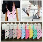 NEW Cute 1Pairs Ladies Women Girls Fashion Candy Color Dress Winter Warm Socks