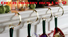 Mantle Clip Christmas Stocking Fireplace Garland Mantel Hanger Set 3 4 5 6 Gold