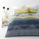 Chevron Zig Zag Yellow  Quilt / Doona Cover Set All Sizes NEW 30 - 40% off RRP