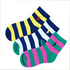 Thanksgiving Fashion Trend Kids Children Wide Stripes Comfortable Cotton Socks