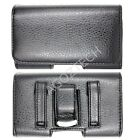 PREMIUM Quality Leather Sideways Horizontal Clip Case Holster for LG Cell Phones