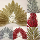 Job Lot 20 x Artificial Glitter Feather *Ideal For Christmas/Flapper Costumes*