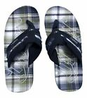 O'NEILL ONEILL CHAD CHECK MENS WOMENS FLIP FLOPS POOL SHOES