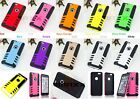 2 Pcs Hybrid Hard PC Soft Silicone Armor Impact Case Cover for iPhone 6 / 6 Plus