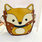 Lady Retro Little Fox Shoulder Bag Messenger Crossbody Satchel Handbag ZB0084