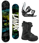 Lamar VIPER 159 WIDE Snowboard+FLOW Flite Bindings+Flow BOA Boots NEW