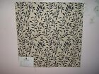 Duralee fabric remnant for crafts floral matelasse Bottom Land Reeds Matelasse