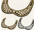 New Arrive Lady Fashion Unique Noble Crystal Collar Bib Necklace Hot A1498