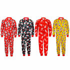 Liverpool FC Official Football Gift Boys Kids Pyjama Onesie Red (RRP £14.99!)