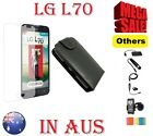 Leather Case Cover Charger Cable OTG Screen Protector powerbank For LG L70 D315K