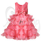 NEW Infant Girls Kid Pageant Wedding Bridesmaid Party Birthday Christmas Dresses