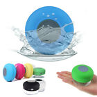 Wireless Bluetooth HIFI Mini Speaker Waterproof Shower Pool Car Handsfree Mic B