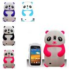 RUBBER SILICONE PANDA BACK GEL CASE COVER IPHONE 4 IPOD TOUCH 4 SAMSUNG S3 I9300
