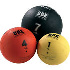 York Fitness BBE Max Grip Rubber Medicine Ball Gym MMA Cross Fit