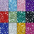 1000 Choose Colour Crystal Flat Back Nail Art Rhinestones Gems Glitter Beads 2mm