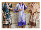 Hot Sale New Women Silk Kimono Hand-Made Painted Kaftan Robe Gown,Flowers