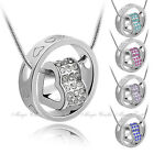 18KGP Swarovski Elements Necklace Mother Anniversary Birthday Valentine Gift
