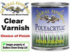 General Finishes Polyacrylic Varnish 946ml Water Based Top Coat Seal Milk Paint
