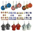 Official Football Club - CHRISTMAS (Xmas) TREE BAUBLES (Decorations)