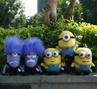Despicable Me 2 Character Plush Toy Yellow & Evil Minions Stuffed Animal Doll