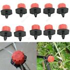 10/20/50pc Garden Irrigation Misting Micro Flow Dripper Drip Head 1/4'' Hose