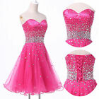 HOT SWEET FORMAL COCKTAIL PROM BALL SHORT LADY GIRLS GRADUATION HOMECOMING DRESS