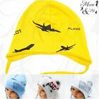 NEW Cute Kids Toddler Boys Hat Cotton Cap Tie up Beanie Spring Car Striped