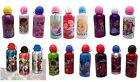 Kids Character ALUMINIUM WATER BOTTLES 500ml (Boys/Girls/Children/School/Sport)