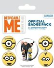Despicable Me Many Minions! Badge Pack 10x12.5cm