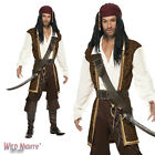 "FANCY DRESS COSTUME # MENS HIGH SEAS BANDIT PIRATE SIZE 38""-44"""