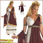 Womens Adult Roman Greek Toga Theme Party Fancy Dress New Size 10 12 14 16 18 20
