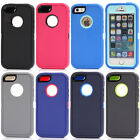 Shockproof Heavy Duty Defender Hard Screen Case Cover Protector For iPhone 5 5S