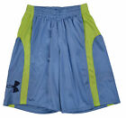 "Under Armour Big Boys (8-20) Game Changer 10"" Basketball Shorts-Gray/Yellow"