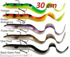 SAVAGE GEAR REAL EEL READY TO FISH 30CM FOR CRAZY PRICE!!! PIKE,PERCH ZANDER etc